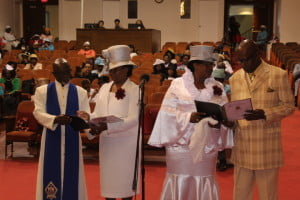 Ordination of two Evangelists